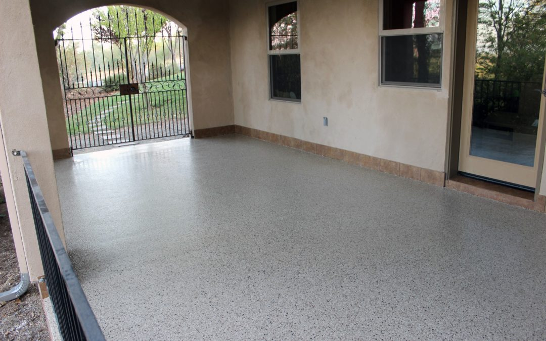 3 Reasons To Refinish Your Concrete Patio With Chip Polyurea Concrete Coating Technology…