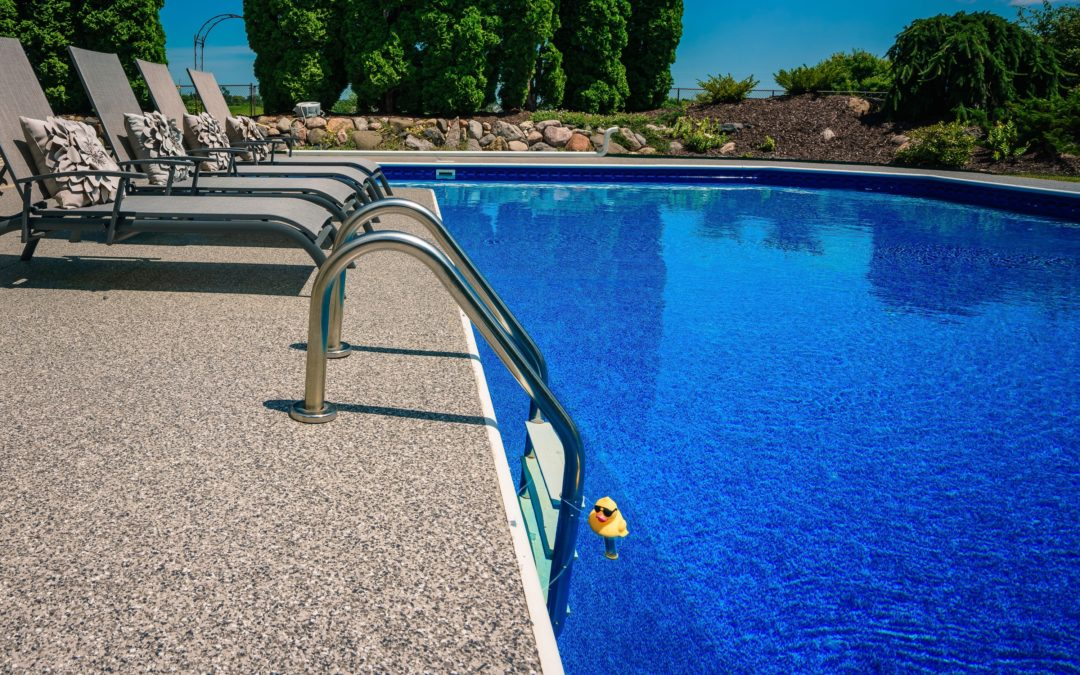 3 Reasons Why Concrete Coatings Will Keep Your Pool Deck Looking Better, Longer….