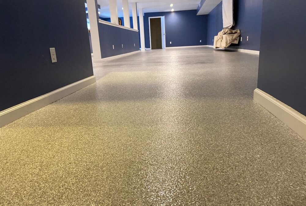 4 Reasons Why Concrete Coatings are the Perfect Choice for Your Basement…