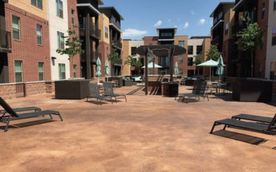 4 Reasons Concrete Coatings Are a Great Answer For Condo and Apartment Complex Walkways and Courtyards…